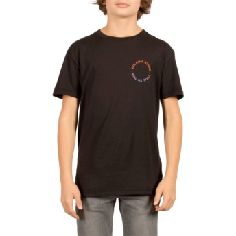 Volcom Youth Black Base Black T-Shirt