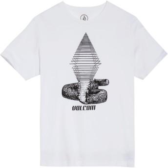 Volcom Youth White Digitalpoison White T-Shirt