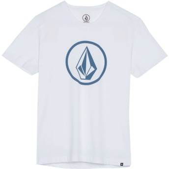 Volcom Youth White Classic Stone White T-Shirt