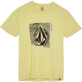Volcom Youth Acid Yellow Stonar Waves Yellow T-Shirt