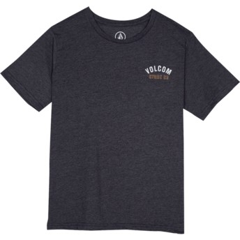 Volcom Youth Heather Black Safe Bet Black T-Shirt