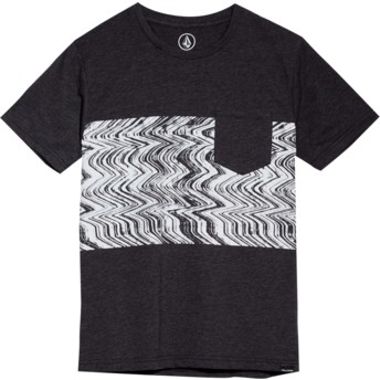 Volcom Youth Heather Black Lofi Black T-Shirt