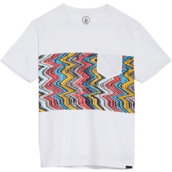 Volcom Youth White Lofi White T-Shirt