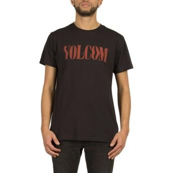 Volcom Black Weave Black T-Shirt