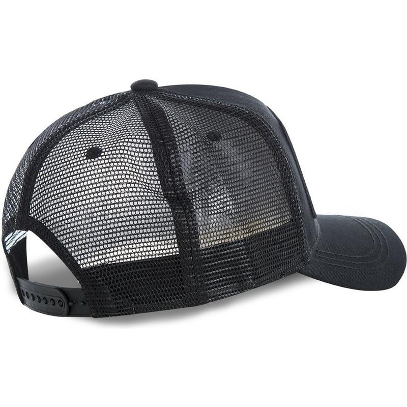 89c16ad4e6bbb Capslab Batman Gotham City Plate BATP1 DC Comics Black Trucker Hat ...