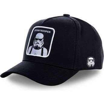 Capslab Curved Brim Stormtrooper BB Star Wars Black Snapback Cap