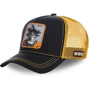 Capslab Son Goku GOKB Dragon Ball Black and Orange Trucker Hat