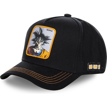Capslab Curved Brim Son Goku GOKC Dragon Ball Black Snapback Cap