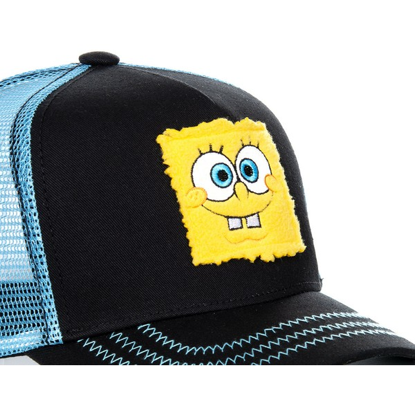 capslab-spongebob-squarepants-spoblk-black-and-blue-trucker-hat