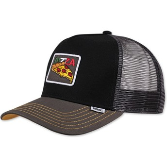 Djinns Food Pizza Black Trucker Hat