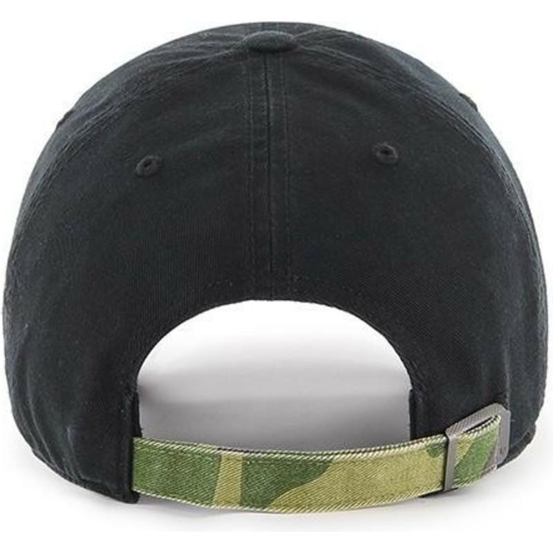47 Brand Curved Brim Camouflage Logo New York Yankees Mlb