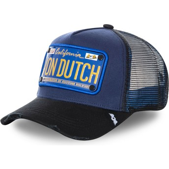 Von Dutch Plate TRUCK15 Navy Blue Trucker Hat