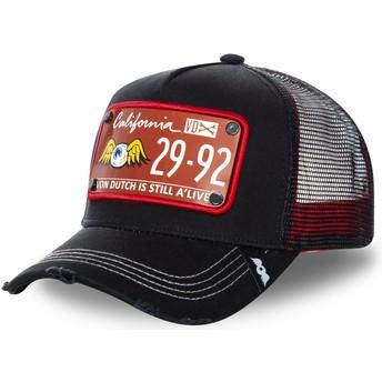Von Dutch Plate TRUCK14 Black Trucker Hat