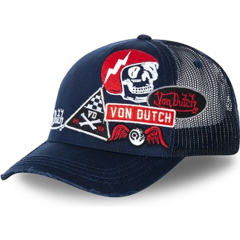Von Dutch MURPH3 Navy Blue Trucker Hat