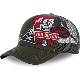 Von Dutch MURPH1B Brown Trucker Hat