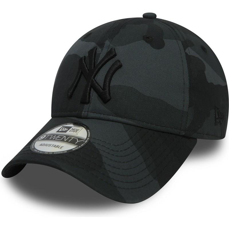 more photos a6598 4abf9 new-era-curved-brim-black-logo-9twenty-essential-