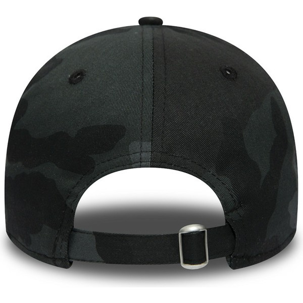 new-era-curved-brim-black-logo-9twenty-essential-packable-new-york-yankees-mlb-black-camouflage-adjustable-cap