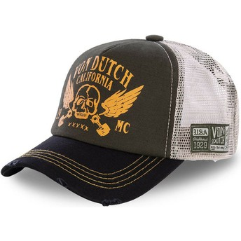 Von Dutch CREW5 Brown and Black Trucker Hat