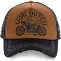 von-dutch-crew6-brown-and-black-trucker-hat