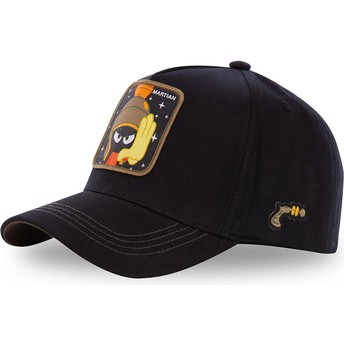 Capslab Curved Brim Marvin the Martian MAR3 Looney Tunes Black Snapback Cap