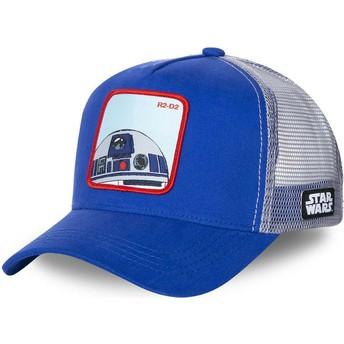 Capslab R2-D2 R2D1 Star Wars Blue Trucker Hat