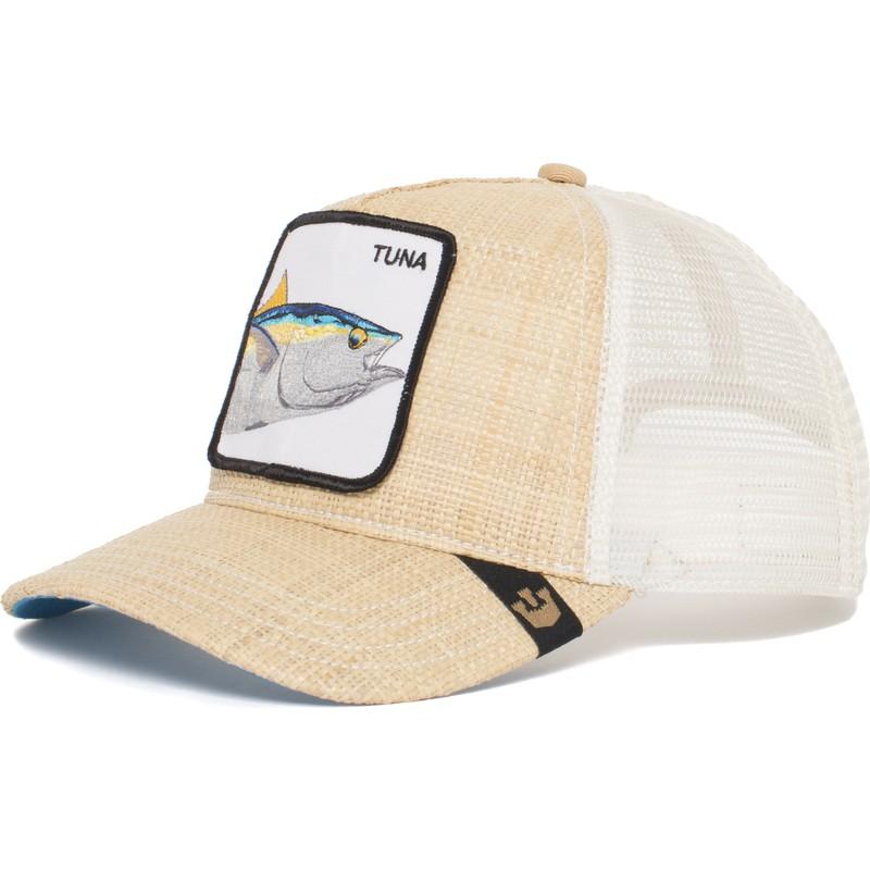 e5150db2ae9f7 Goorin Bros. Tuna Big Fish Brown Trucker Hat  Shop Online at Caphunters