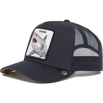 Goorin Bros. Shark Dunnah Navy Blue Trucker Hat