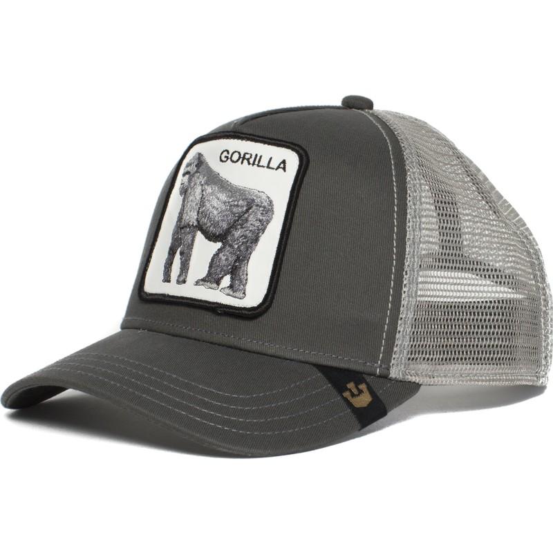 d16a911fc4 Goorin Bros. Gorilla King of the Jungle Grey Trucker Hat  Shop ...
