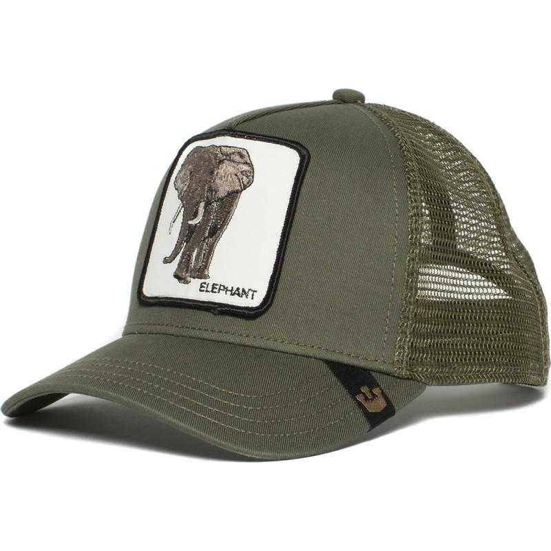 Goorin Bros. Elephant Green Trucker Hat  Shop Online at Caphunters b113d1b4fd5
