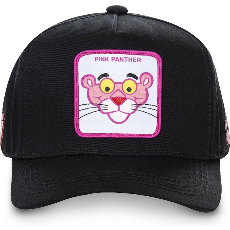Capslab Curved Brim The Pink Panther PANT3 Black Snapback Cap   Shop ... 0e1d87a12fee