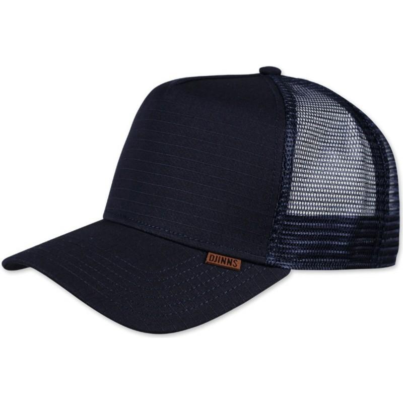 Djinns M-Ribstop Navy Blue Trucker Hat   Shop Online at Caphunters 085410e198f