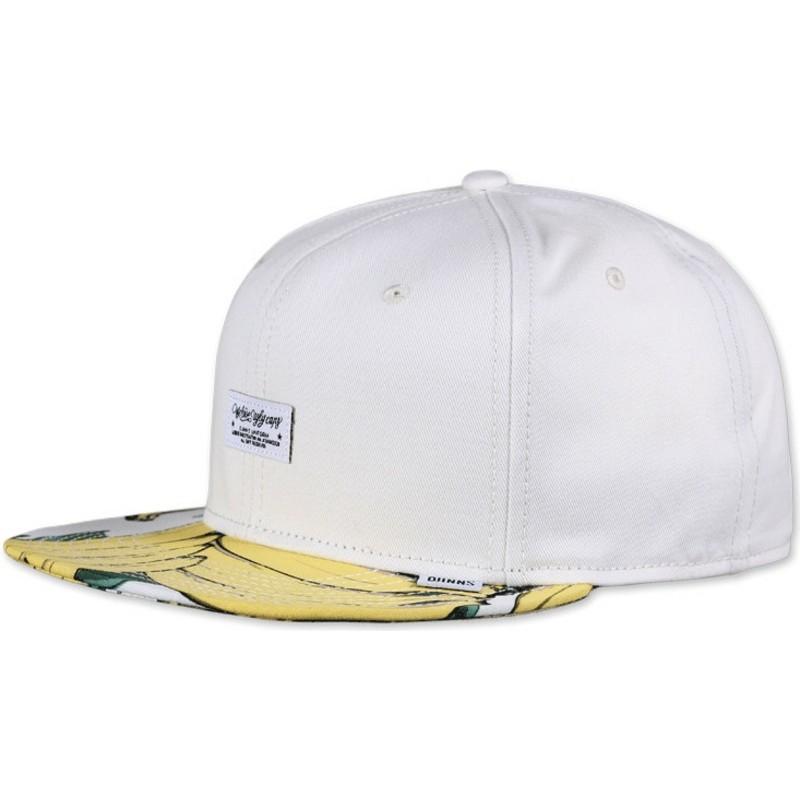 Djinns 6 Panel Banana Rev. White Snapback Cap   Shop Online at ... 5f89f4938ee