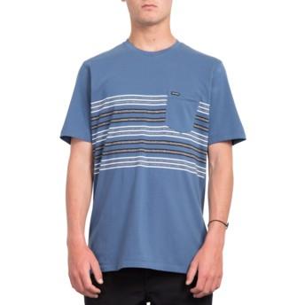 Volcom Indigo Forzee Navy Blue T-Shirt