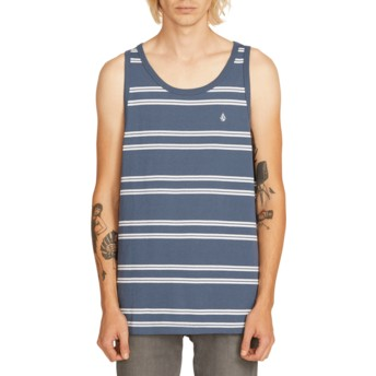 Volcom Indigo Beauville Navy Blue Sleeveless T-Shirt