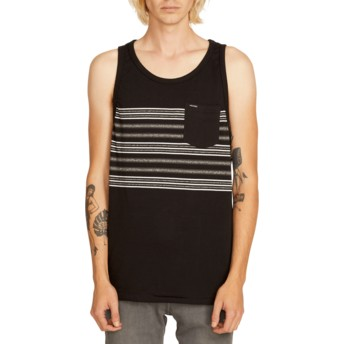 Volcom Black Forzee Black Sleeveless T-Shirt