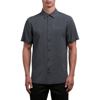 Volcom Black Chill Out Black Short Sleeve Shirt