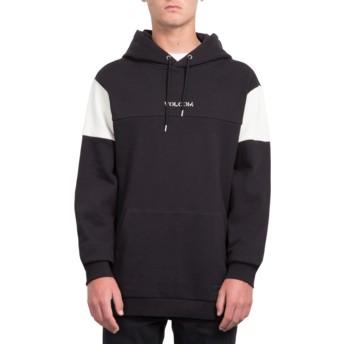 Volcom Black Thrifter Black Hoodie Sweatshirt