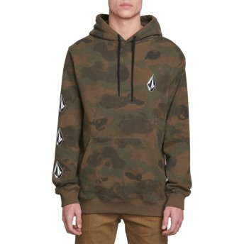 Volcom Camouflage Deadly Stones Camouflage Hoodie Sweatshirt