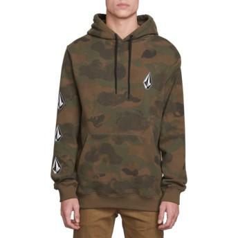 Volcom Camouflage Deadly Stones Camouflage Hoodie Sweatshirt