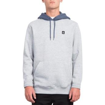 Volcom Storm Single Stone Blue Hoodie Sweatshirt
