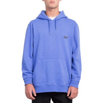 Volcom Dark Purple Lucid State Purple Hoodie Sweatshirt