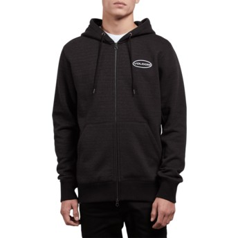 Volcom Lead Shop Black Hoodie Sweatshirt