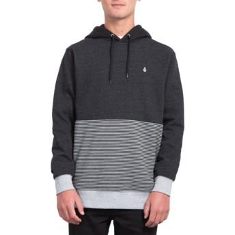 Volcom Sulfur Black Forzee Black Hoodie Sweatshirt