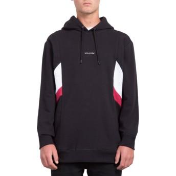 Volcom Black Wailes Black Hoodie Sweatshirt