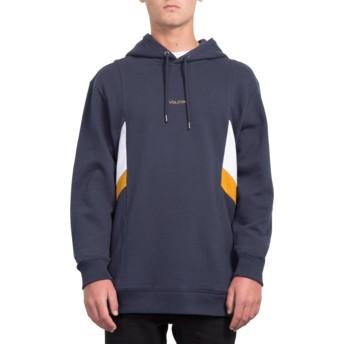 Volcom Navy Wailes Navy Blue Hoodie Sweatshirt