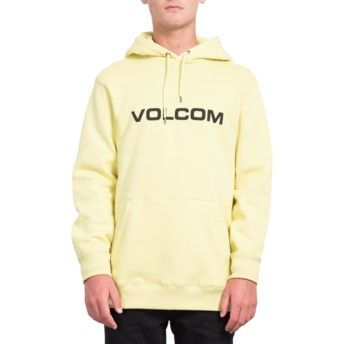 Volcom Lime General Stone Yellow Hoodie Sweatshirt