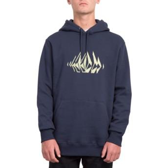 Volcom Navy General Stone Navy Blue Hoodie Sweatshirt