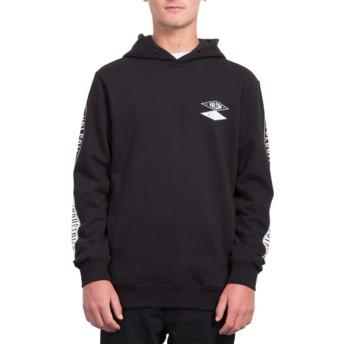 Volcom Black V.I. Black Hoodie Sweatshirt