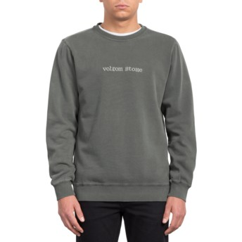 Volcom Black Lucid State Black Sweatshirt