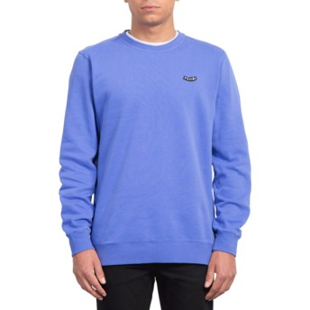 Volcom Dark Purple Lucid State Purple Sweatshirt